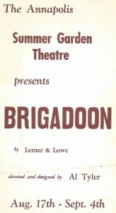 1966 Brigadoon program