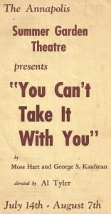 1966 You Can t Take It With You program