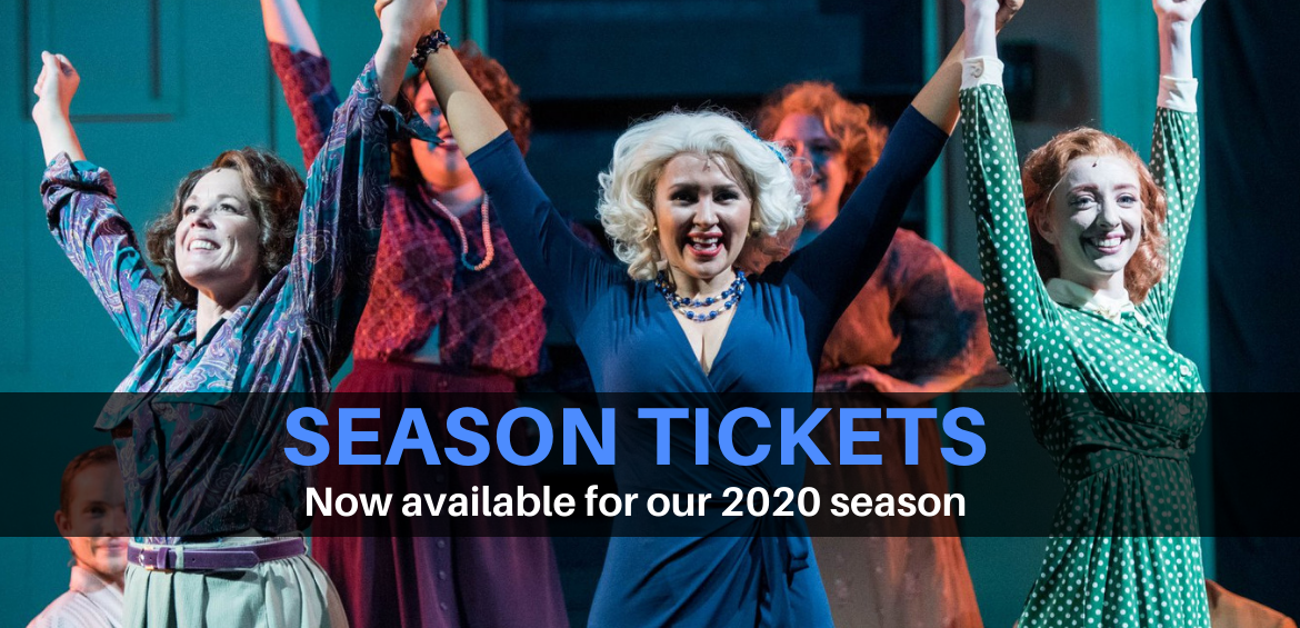 2020 Season Tickets - Photo by Alison Harbaugh, Sugar Farm Productions