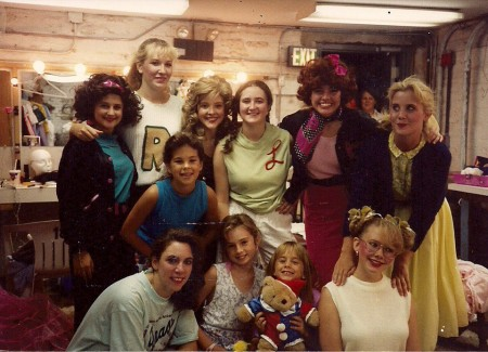 """""""Grease"""" (youth production) 1991"""