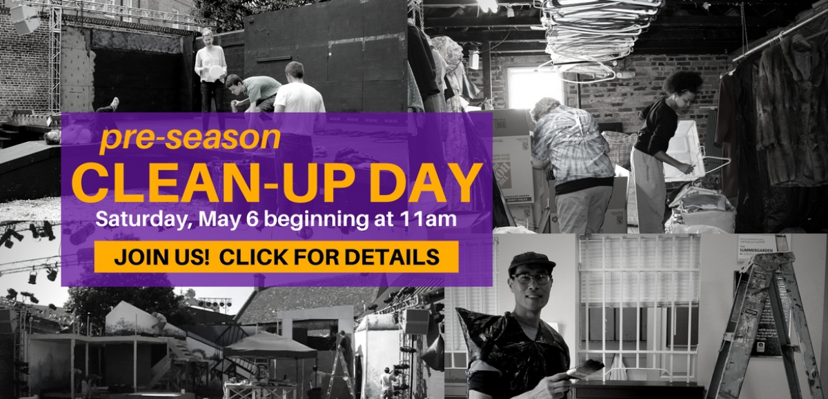 Cleanup Day Homepage Banner