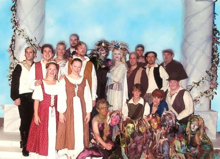 "The cast of ""A Midsummer Night's Dream"" 1998"