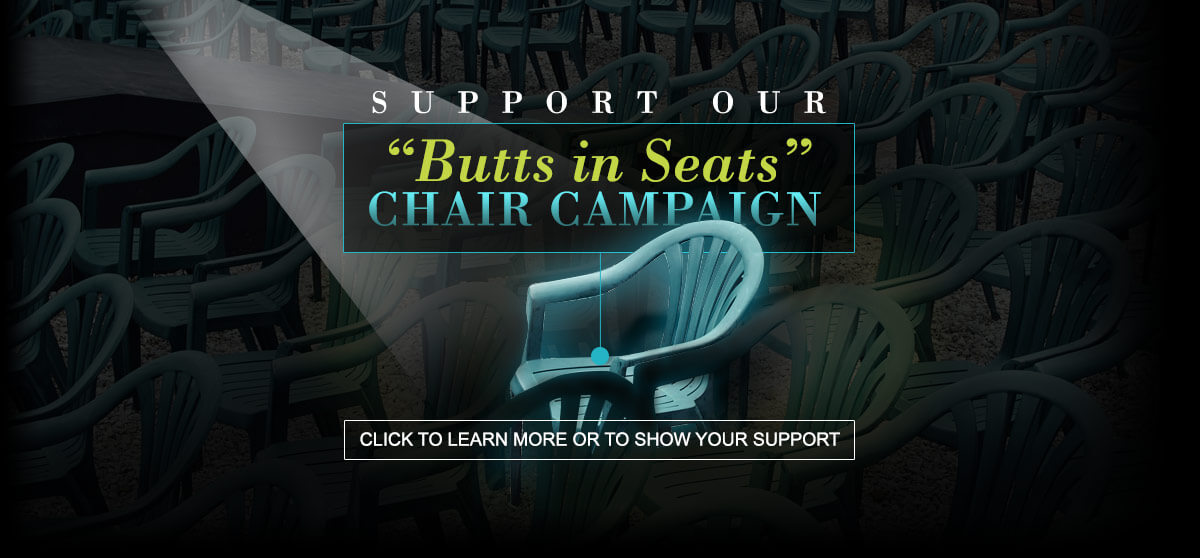 Homepage - Annapolis Summer Garden Theatre Fundraiser Butts in Seats Campaign Chairs